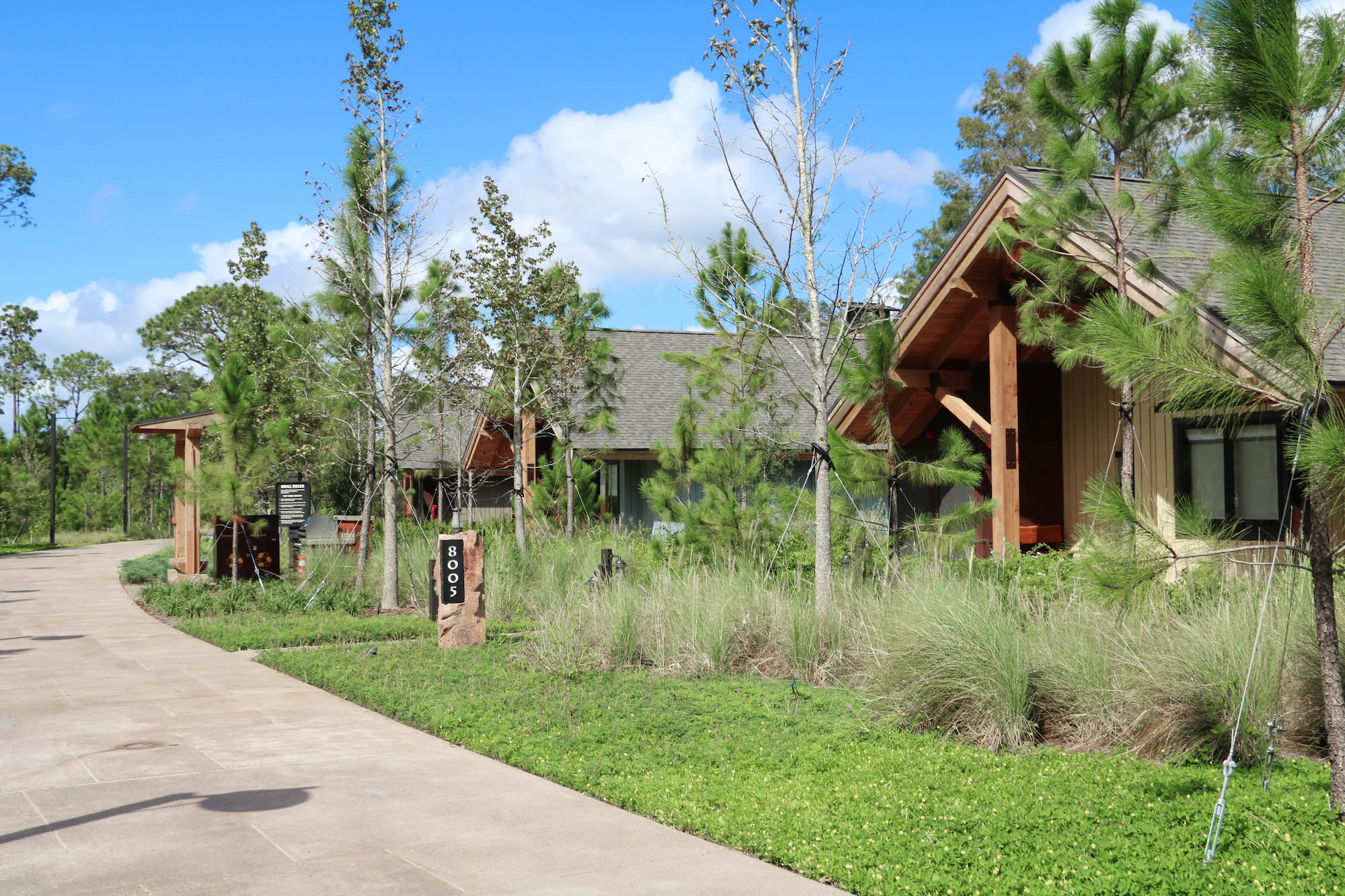 Disney DVC Copper Creek Wilderness Lodge private cabins
