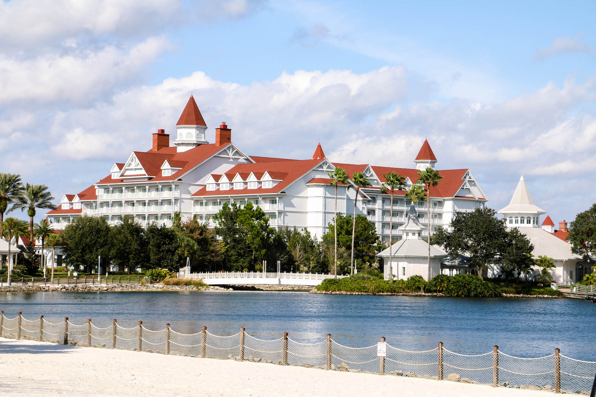 Disney DVC Grand Floridian exterior view